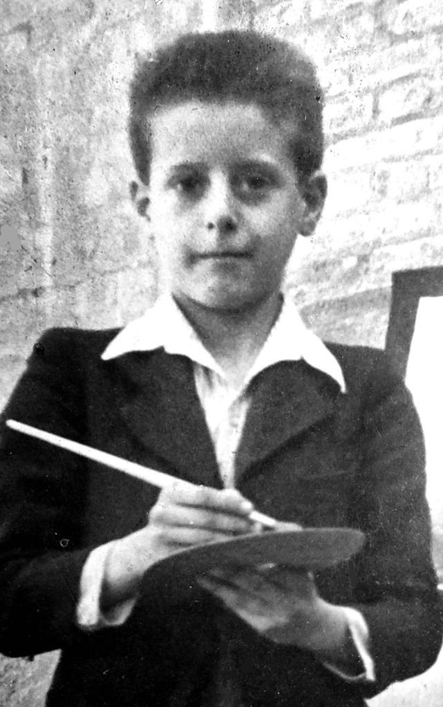 Antonio Mª con 13 años en 1945