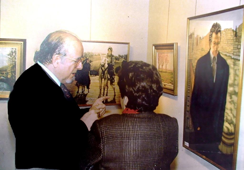 Exposición en sala Itxaso. Zaragoza 1995