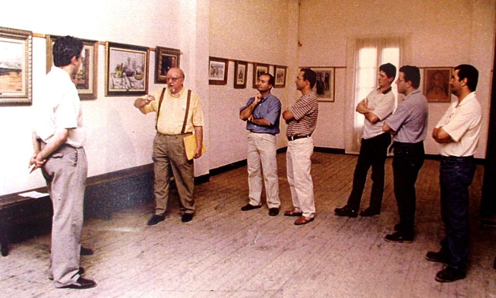 Exposición GEMA.Mas de las Matas. 1997