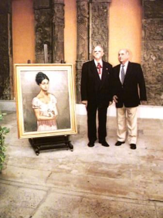 Acto ingreso Real Academia San Luis Zaragoza 2006
