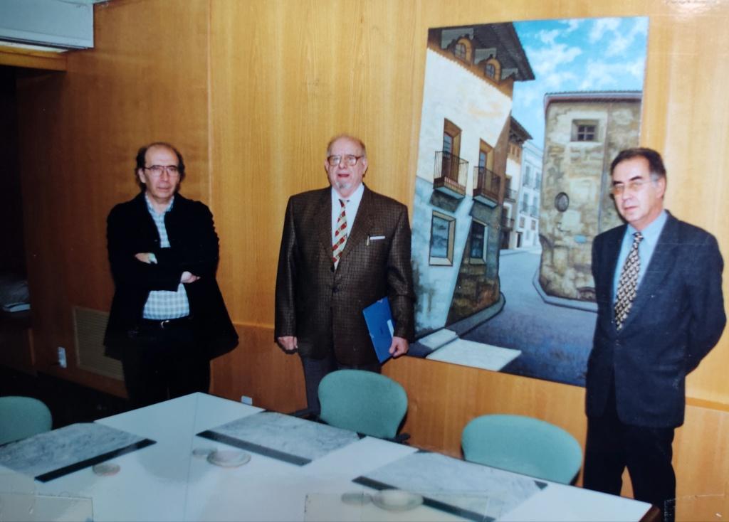 Acto Colegio Arquitectos Aragón 1999