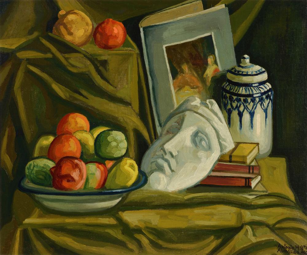 Bodegón de estudio. 1956. 54x65