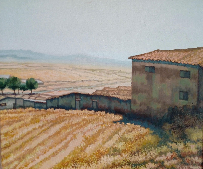 Paisaje aragonés. 1997. 54x45